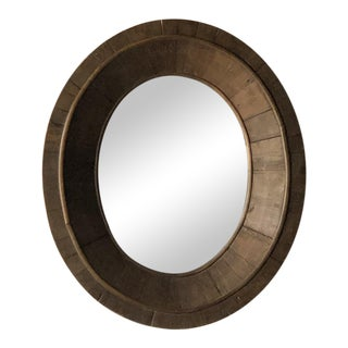 20th C. French Wood Mirror For Sale