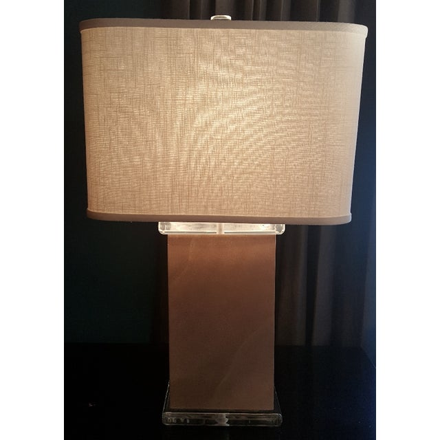 Mid-Century Modern Mid-Century Vellum Table Lamps - A Pair For Sale - Image 3 of 7