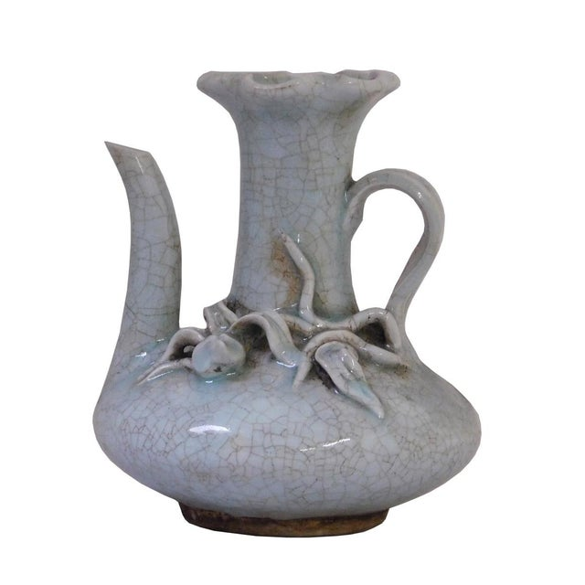 Chinese Celadon Pottery Vase For Sale