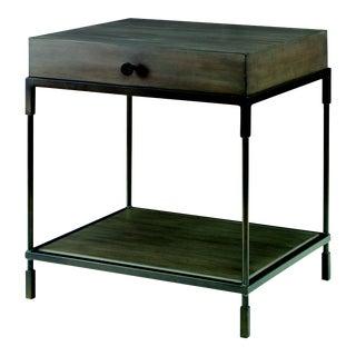 Century Furniture Westport End Table, Mink Grey For Sale