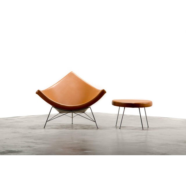 George Nelson & Associates for Herman Miller Coconut chair and ottoman Manufactured by Herman Miller USA circa 1956 Carmel...