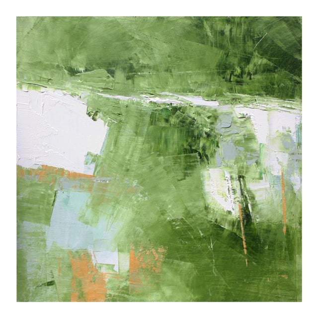 Abstract Landscape Oil Painting by Paul Ashby For Sale