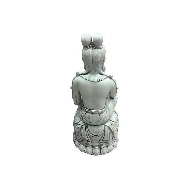 Blanc De Chine Seated Buddha - Image 3 of 6