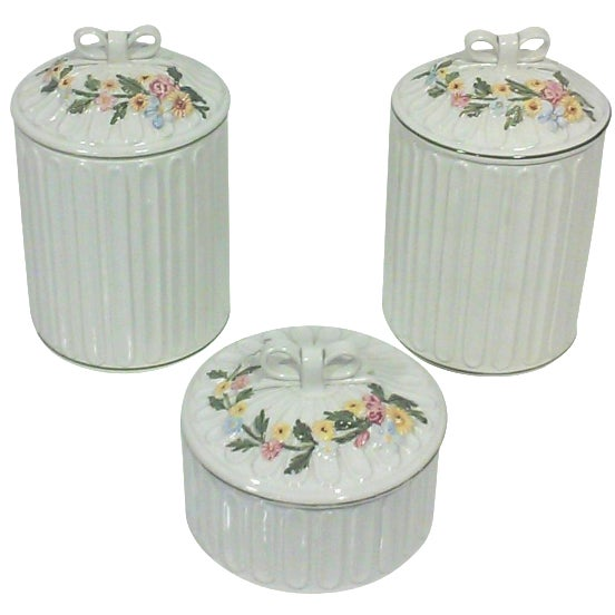 Italian Apothecary Jars - Set of 3 - Image 1 of 7