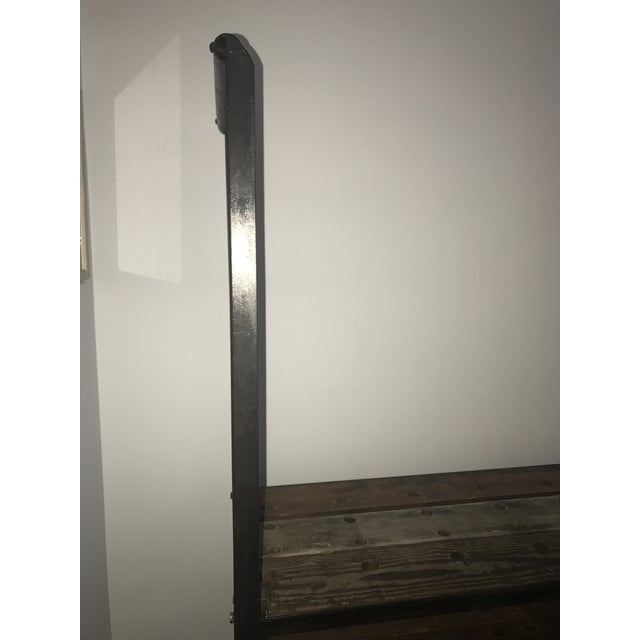 Antique Industrial Cobblers Shoe Rack Shelving Unit - Image 11 of 11