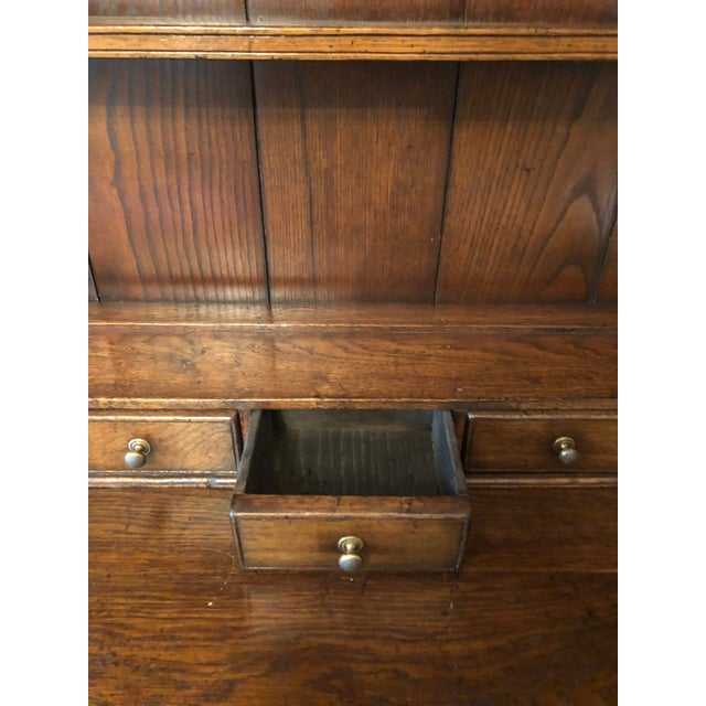 1860s Traditional Welsh China Cabinet For Sale - Image 10 of 13