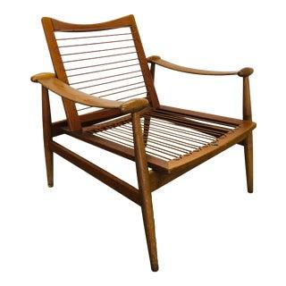 Vintage Finn Juhl Spade Lounge Chair by France & Sons Danish Modern Mid Century For Sale