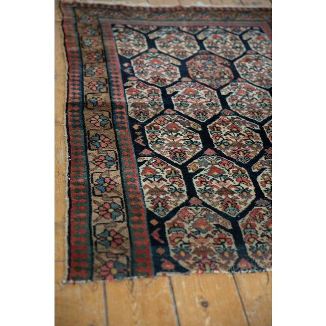 """Antique Fragment Northwest Persian Rug - 3'2"""" X 5' For Sale - Image 11 of 12"""