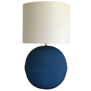 Postmodern Ball Form Table Lamp For Sale