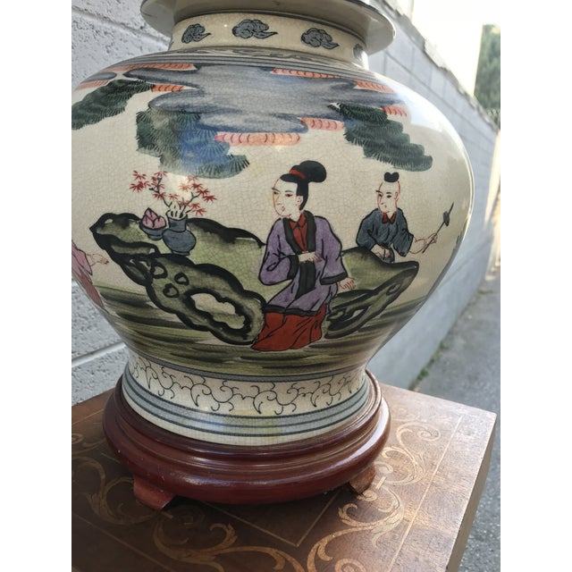 Absolutely rare, one of a kind Ginger Jar. Fully hand-painted this masterpiece, and A collectable Jar has no Imperfection,...