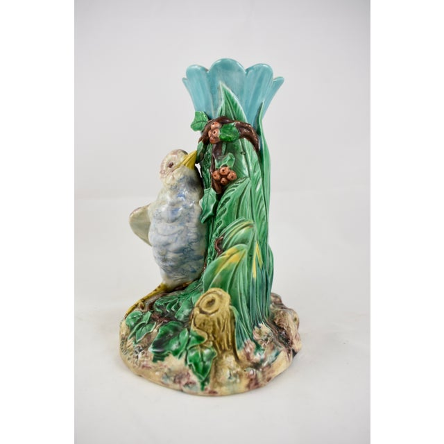 19th Century Royal Worcester Song Bird Posey Vase - Image 2 of 10
