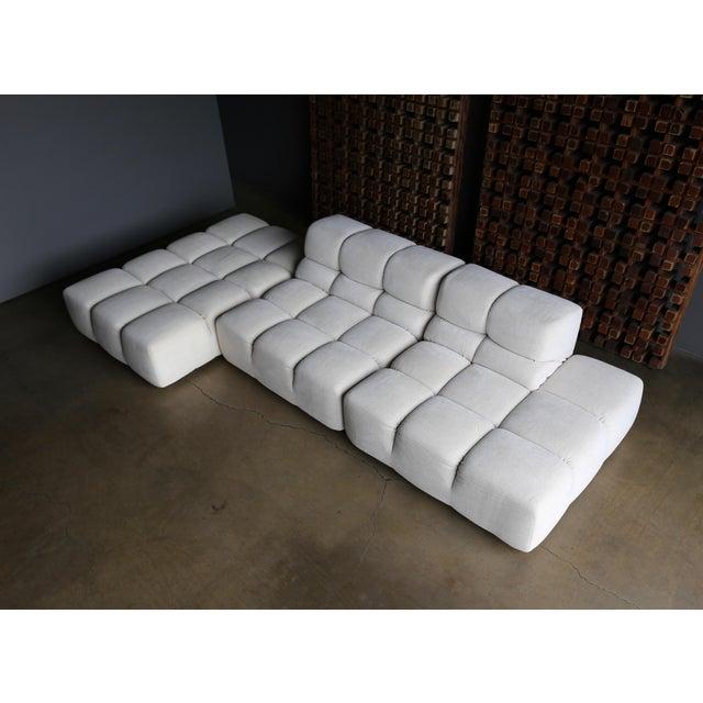 "Textile Patricia Urquiola "" Tufty-Time "" Sofa for B&b Italia Circa 2005 For Sale - Image 7 of 12"