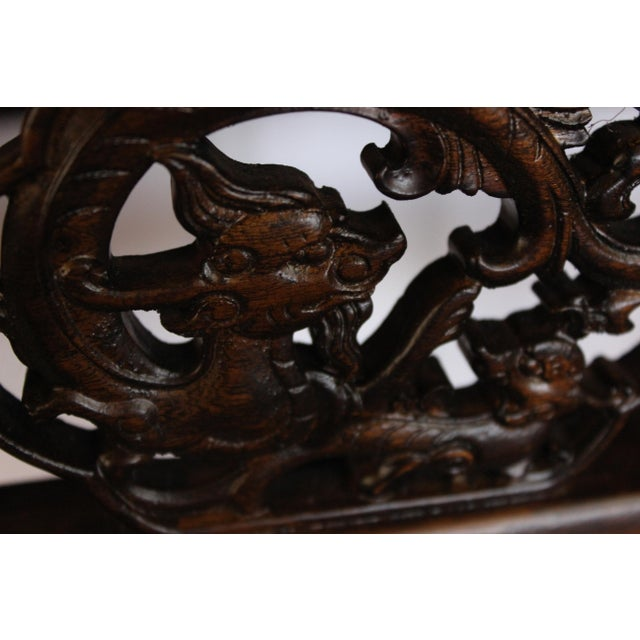Carved Console Table For Sale In Boston - Image 6 of 10