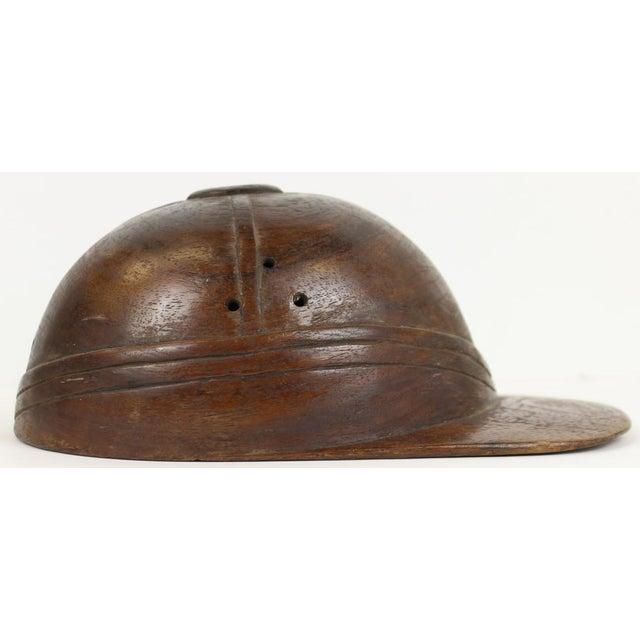 Wooden Jockey Cap Figure - Image 3 of 5