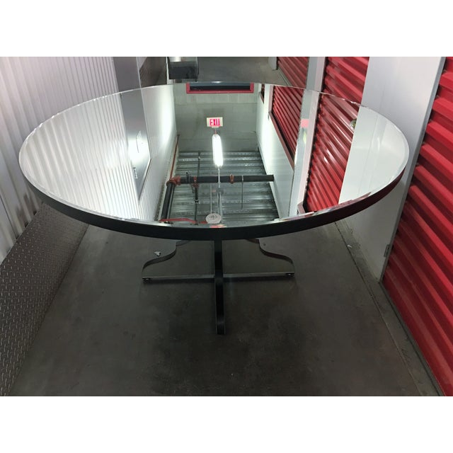 Round Beveled Mirror Dining/Entryway Table - Image 11 of 11