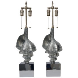 Image of Silver Table Lamps