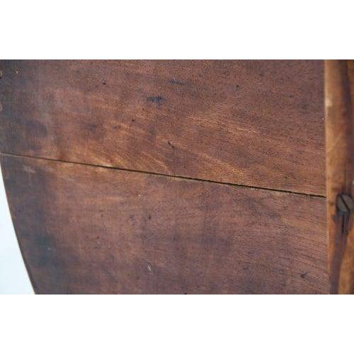 Circa 1850 Swiss Walnut Tilt Top Tea Table For Sale - Image 9 of 11