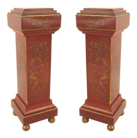 Image of Red Pedestals and Columns