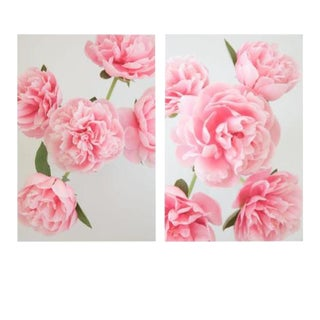 Grace: Pink Peony, 2020' Diptych, Contemporary Photographs by Claiborne Swanson Frank, Medium - A Pair