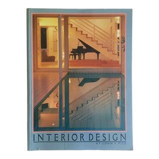 """ Interior Design "" Vintage 1988 1st Edition Contemporary Design Survey Book For Sale"
