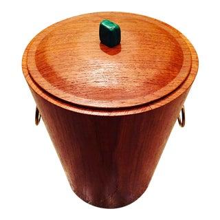 Mid-Century Swedish Malachite Ice Bucket