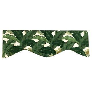 Swaying Palm Leaves Window Valance For Sale