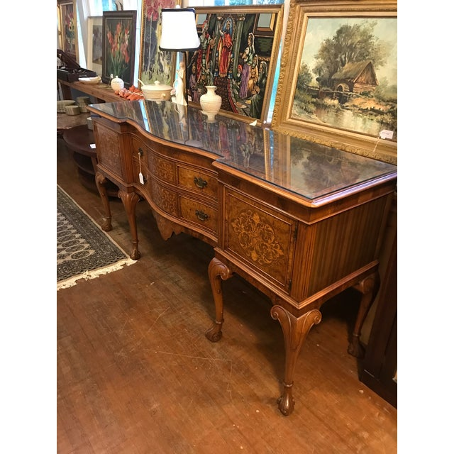 French Early 20th Century Louis XV Style Sideboard Buffet For Sale - Image 3 of 12