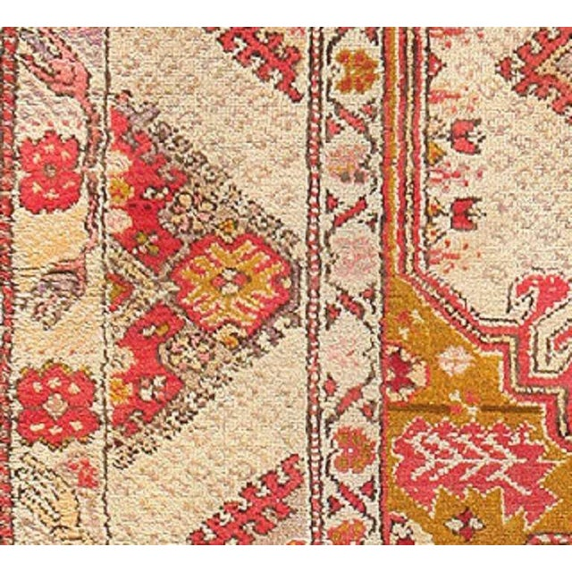 Antique Turkish Ghiordes Rug For Sale In New York - Image 6 of 7