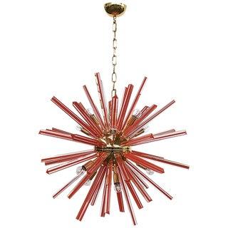 Scarlet Sputnik Chandelier by Fabio Ltd For Sale