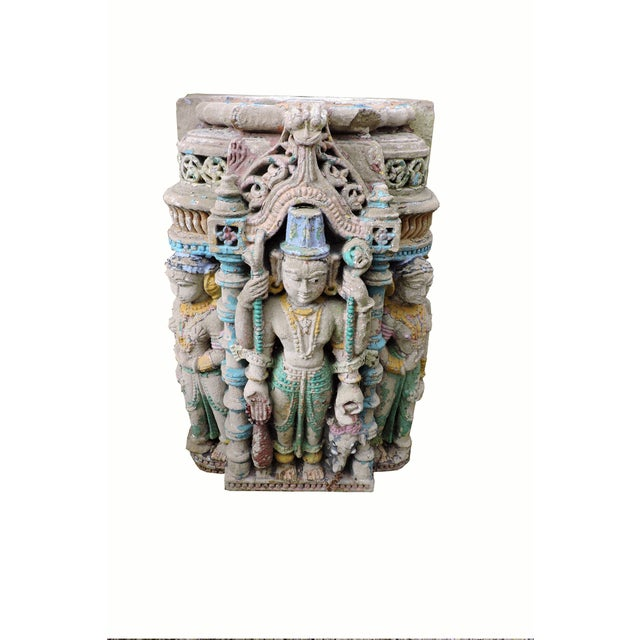18th Century Indian Temple Fragment For Sale In San Francisco - Image 6 of 6