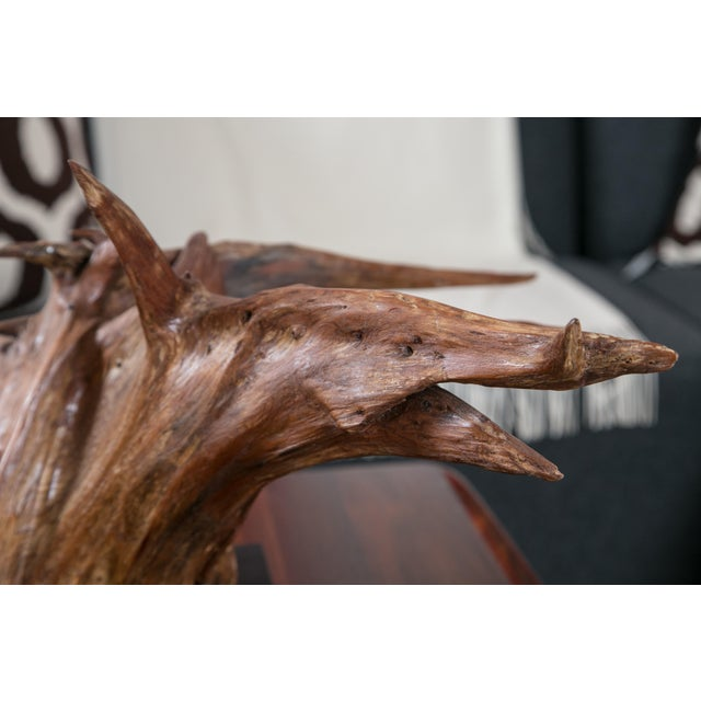 Mounted Driftwood Sculpture - Image 5 of 7