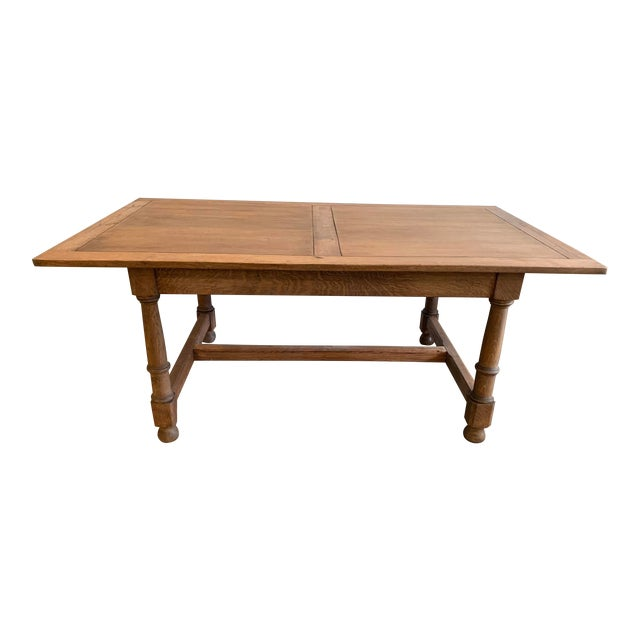 Antique French Farm Dining Table For Sale