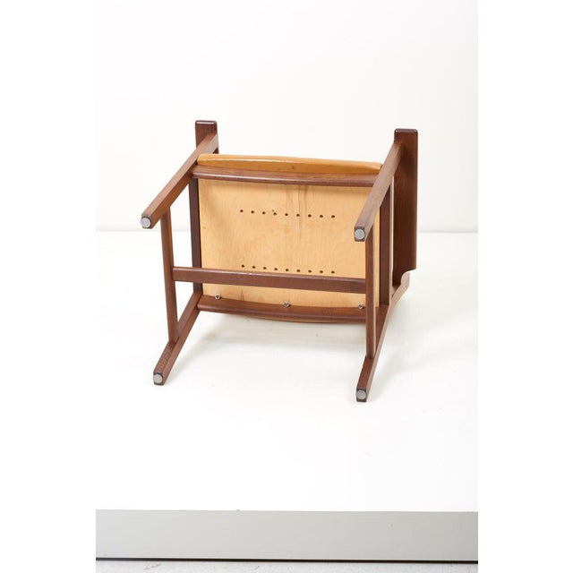 Set of Ten Ge 1960s Armchairs in Leather by Hans Wegner for by Getama, Denmark For Sale - Image 11 of 13
