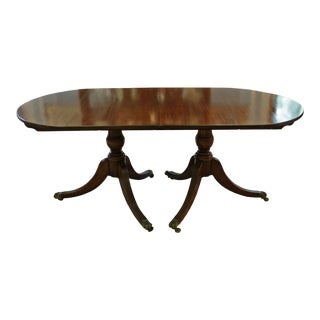 Georgian Pedestal Banquet/Dining Table For Sale