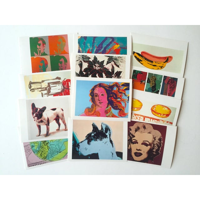 "Andy Warhol Vintage 1989 Pop Art ""AW Estate Foundation"" Postcard Prints - Set of 12 - Image 5 of 9"