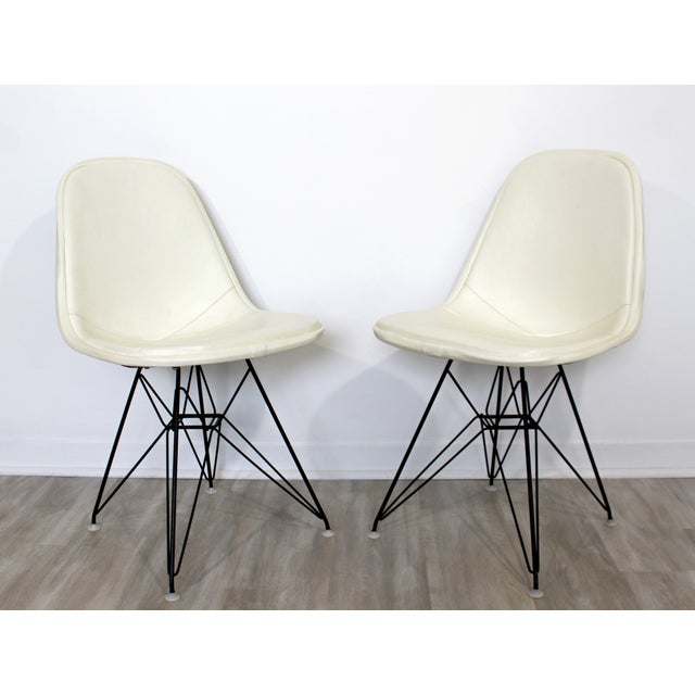 Mid-Century Modern Mid Century Modern Eames Herman Miller Eiffel Tower Dkr Side Chairs 60s - Set of 6 For Sale - Image 3 of 11