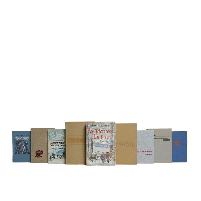 Sunset Skies Western Heritage Book Set, S/20. Twenty midcentury era books featuring a curated collection of selections...