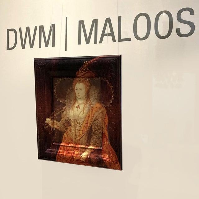 "13"" W x 15"" H x 2"" D Portraits Of Queen Elizabeth I (1533-1603) Hampton Court Palace Reinterpreted by DWM   MALOOS This..."