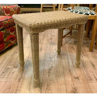 Wicker Side Table Preview
