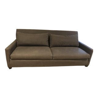 Lee Industries Blue Upholstered Sofa