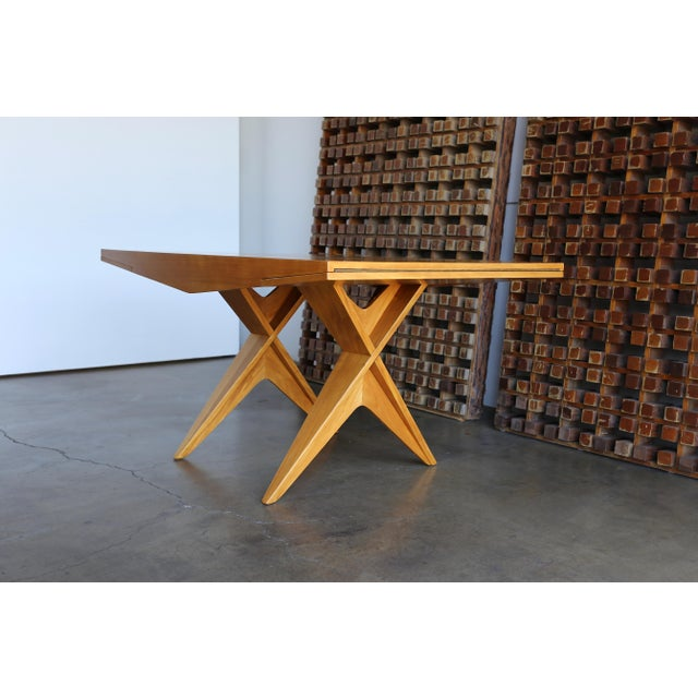 1940s 1940s Dan Johnson Dining Table For Sale - Image 5 of 10