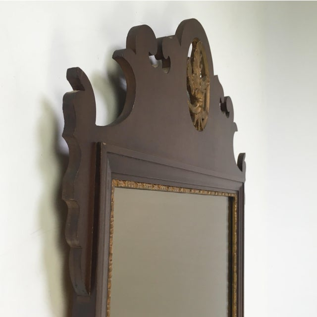 Mahogany Chippendale Mirror With Gilt Detail - Image 4 of 6