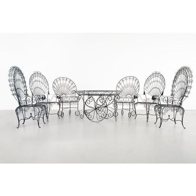 Set of Salterini Peacock Chairs - a Pair For Sale - Image 11 of 12