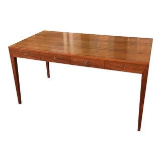 Severin Hansen for Haslev Teak Writing Desk For Sale