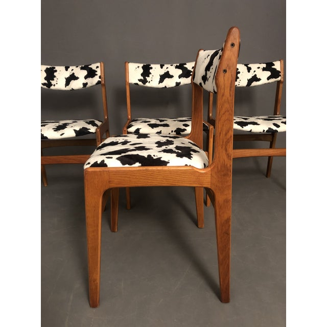 If you like Mid-Century you would love these amazing teak danish set of 4 dinning chairs that fits almost any dinning...