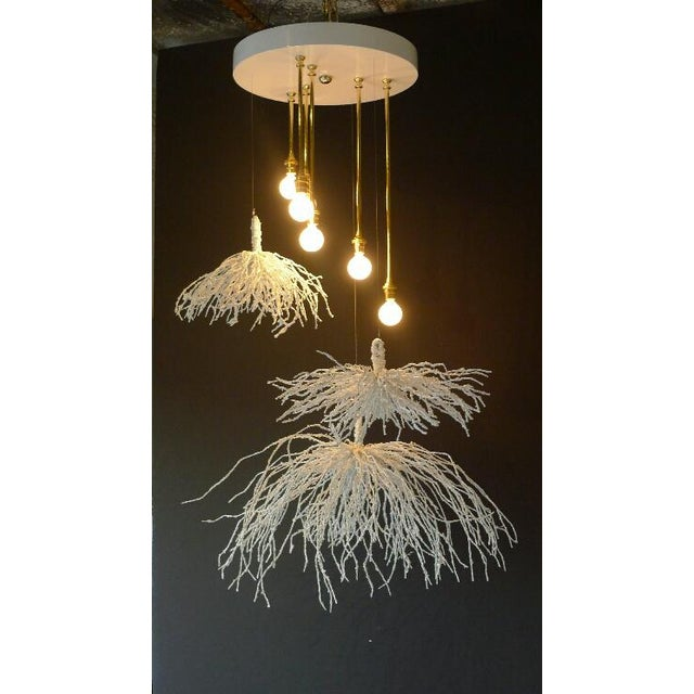 Paul Marra Sage Pendant - Chandelier For Sale In Los Angeles - Image 6 of 6