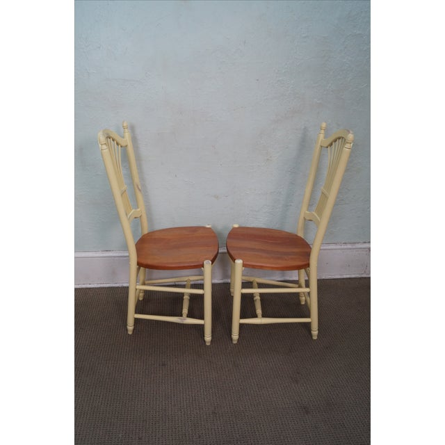Country Zimmerman American Heirloom Windsor Chairs - 4 For Sale - Image 3 of 10