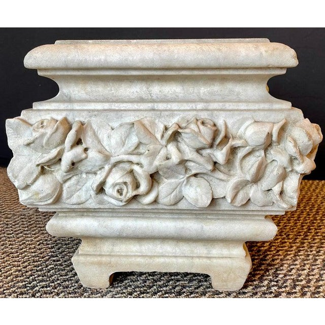 19th Century Marble Planter or Jardinière For Sale - Image 9 of 13