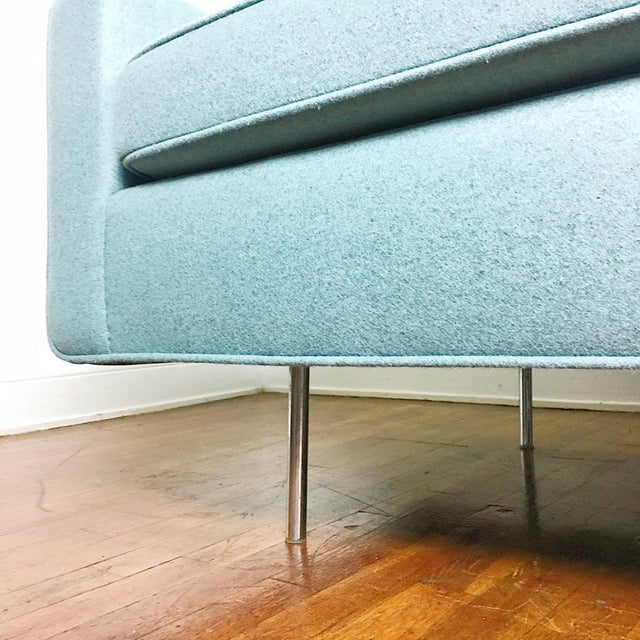 Blue Florence Knoll Sofa For Sale - Image 10 of 11