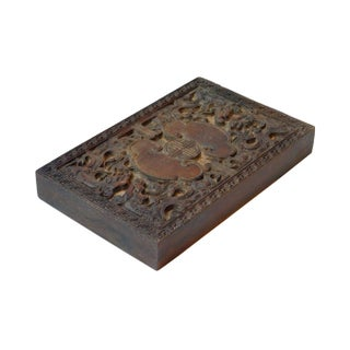 Chinese Vintage Handcrafted Dragon & LuYi Pattern Wood Paper Graphic Printing Stamp Preview